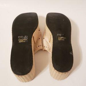 Steve Madden Shoes - SALE ✨ Steve Madden   Woven Platform Slides